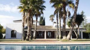 Sotogrande villa with sea views