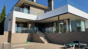 Villa Alcaidesa with spectacular views