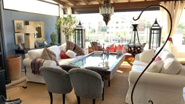 Duplex Penthouse for rent in Sotogrande Marina.