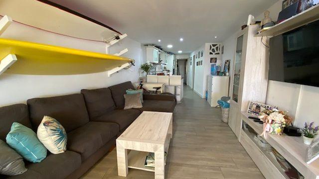 Beach ground floor apartment