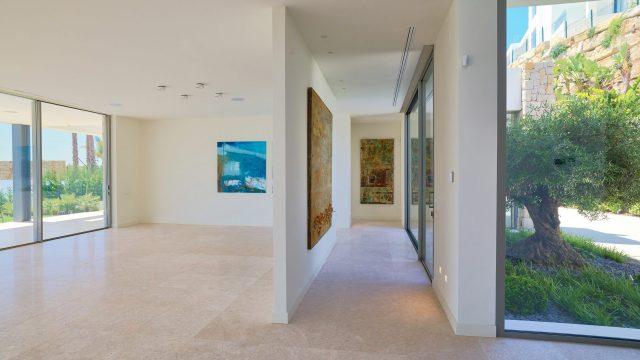 Villa contemporanea en venta en Benahavís.